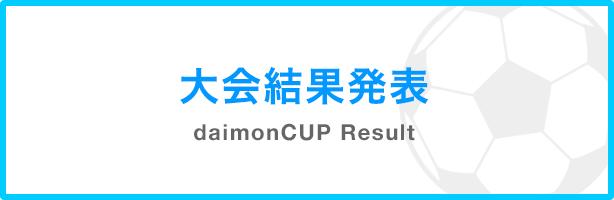 女子フットサル daimonCUP 大会結果